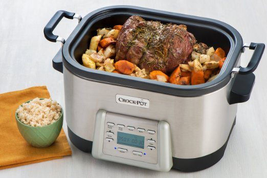 Crock-Pot 6-Quart 5-in-1 Multi-Cooker with Non-Stick Inner Pot