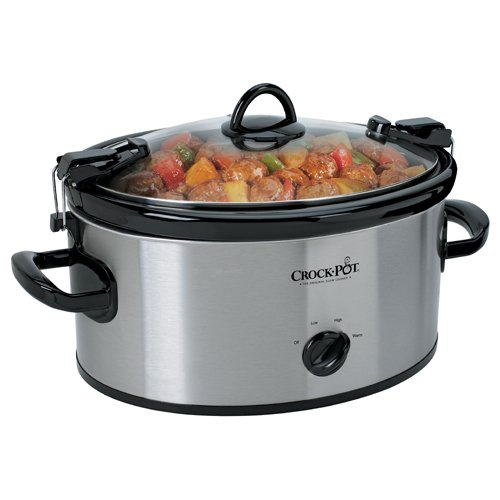 Crock Pot Cook'N Carry 6-Quart Oval Manual Portable Slow Cooker