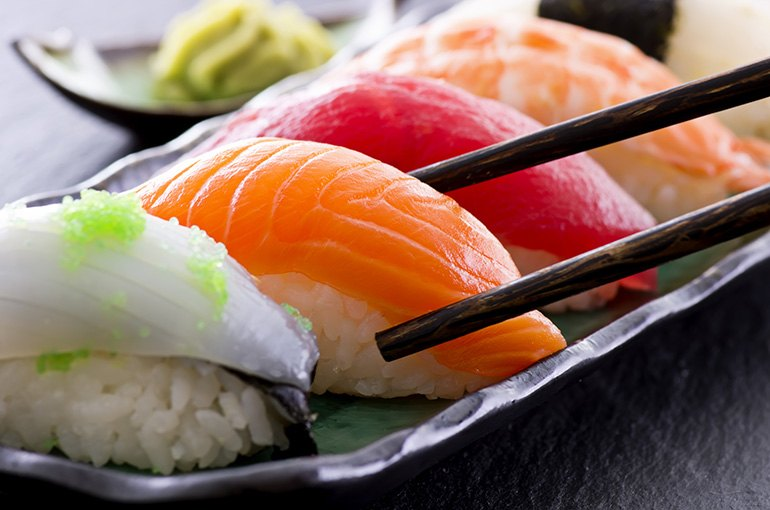 sushi-flavor-profile