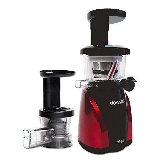 Tribest SW-2000-B Slowstar Vertical Slow Cold Press Juicer