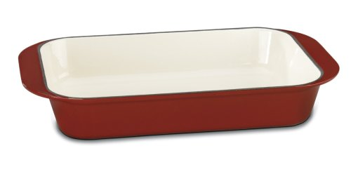 Cuisinart Cl1136- 24CR Enameled Roasting Pan