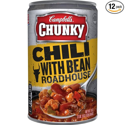 Campbell's Chunky Chili, with Bean Roadhouse
