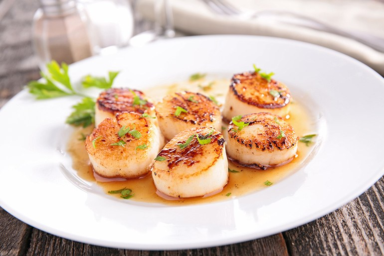 How-to-defrost-scallops